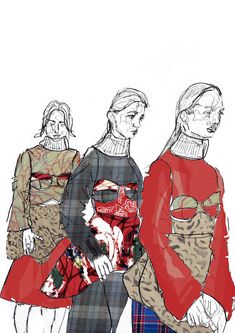 Fashion illustration - ARTS THREAD Profile - ARTS THREAD