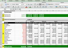 budgeting excel template free