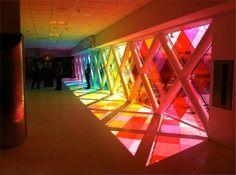 Arte e Arquitetura: Jogo de Transparências / Christopher Janney - Aeroporto Internacional de Miami