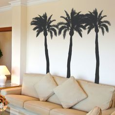 Palmboom 2   UBer Decals Muur Sticker Vinyl Decor Art Sticker Verwisselbare  Muurschildering Moderne A233 | Vinyls, Tree Wall And Murals