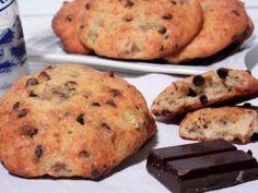 Cookies moelleux à la banane et aux pépites de chocolat, Recette Ptitchef
