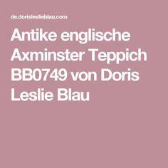 Antike Englische Axminster Teppich Von Doris Leslie Blau