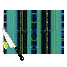 "Nina May ""Deco City"" Cutting Board"