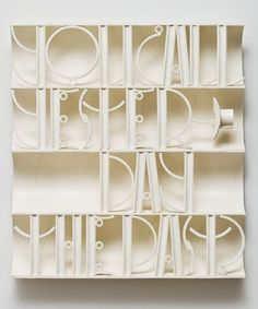 Font Study, Ricky Swallow, Australian born 1974  Patinated Bronze. 21