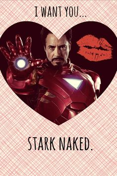 Inappropriate Avengers Valentines. Why am I seeing these a few days too late?!