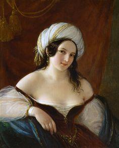 Natale Schiovoni (Italian, 1777-1858)  –  Odalisque