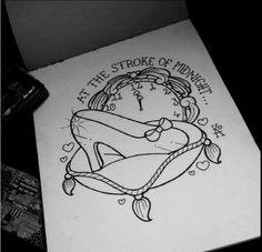 Disney Cinderella Glass Slipper Tattoo - you do you ❤