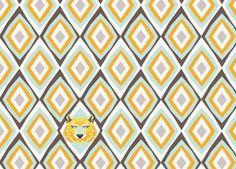 avontuurlijke 'Savanne' vliesbehang strook DJECO | kinderen-shop Kleine Zebra 29,25e