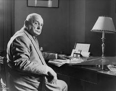 Lord Chief Justice of England, Rayner Goddard, Baron Goddard (1877 - 1971), circa 1958.