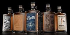 Orphan Barrel Range — The Dieline | graphic design. visual communication. packaging. package design. label design. branding. layout. hierarchy.