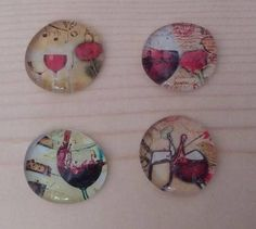 Wine Magnet - Wine Lover Magnet - Merlot Magnet - Home Decor - Refrigerator Magnet - Birthday Gift - Mothers Day Gift - Christmas Gift by PickadillyGarden on Etsy