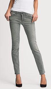 THE SKINNY in jeans-hellgrau
