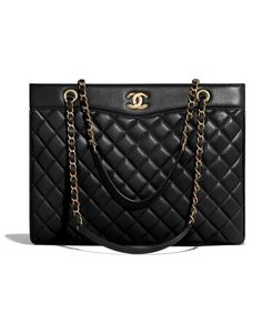 Chanel Tote Bag, Chanel Handbags, Leather Handbags, Women's Handbags, Bags Online Shopping, Shopping Bag, Luxury Bags, Luxury Handbags, Latest Handbags