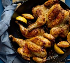 Spatchcocked Lemon Herb Chicken | How To Marinate And Make Better Food