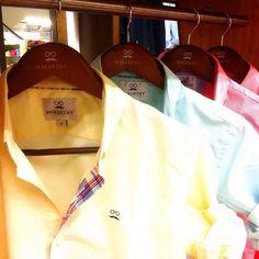Martes colorido!!! Abrir tu vestidor y encontrarte con esta gama de colores, alegra, ya de primeras, la mañana!