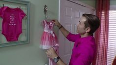 Join makeover maestro Martin Amado as he reveals a tip for decorating with your baby clothes.