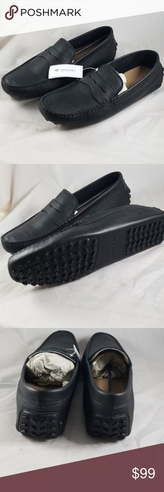 00089f337a Lacoste 10M Men's Concours Loafer brand new Add charm to your casual look  with the Concours