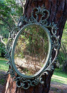 Gorgeous Shabby Paris Apartment  Syroco Mirror