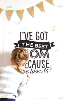 This adorable poster will have your mom feeling extra special this Mother's Day.