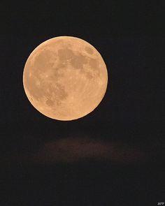 Foto de la superluna del 10 de Agosto del 2014 tomada por el estado de Virginia en Estados Unidos.
