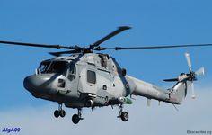 French Marine Nationale Aeronavale Westland WG-13 Lynx, after modernisation in 2009.