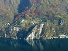 Le Lago di Lugano et Pugerna