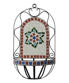 Another great find on #zulily! Tiled Wall Sconce by Entrada Collection Inc. #zulilyfinds