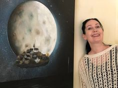 Bilder fra avisintervjuet Lady, Blog, Painting, Painting Art, Paintings, Painted Canvas