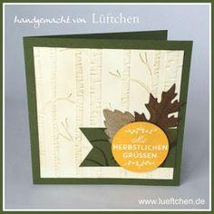 Lüftchen Stempelstudio Bergedorf: Erste Herbstgrüße