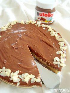 Nutella Cheesecake -- Delish!