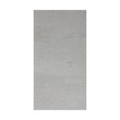cut out of rectangular light grey matt tile