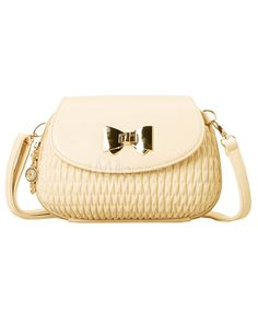 Cute Quilted PU Leather Woman's Cross Body Bag - Milanoo.com