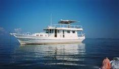 55' Merlin Giroir Trawler, Live aboard, long range cruiser #boat #yacht $129900