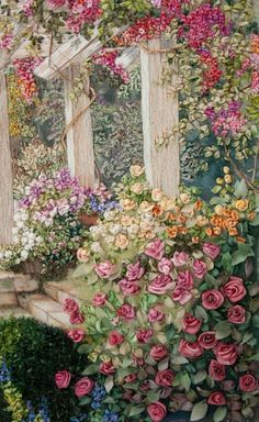 Wonderful Ribbon Embroidery Flowers by Hand Ideas. Enchanting Ribbon Embroidery Flowers by Hand Ideas. Silk Ribbon Embroidery, Crewel Embroidery, Embroidery Patterns, Embroidery Thread, Garden Embroidery, Embroidery Machines, Embroidery Supplies, Embroidered Silk, Embroidery Tattoo
