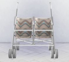 Sims 4 CC's - The Best: Double Stroller by HomeLivingSims