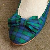 Tartan shoes for Laura and Lily