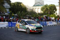 15 BANAZ Buğra and ERDENER Burak FORD FIESTA R2 action during the 2016 European Rally Championship ERC Cyprus Rally,  from october  7 to 9  at Nicosie, Cyprus - Photo Gregory Lenormand / DPPI