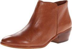 Sam Edelman Women's Petty Ankle Bootie, Saddle Leather, 7 M US
