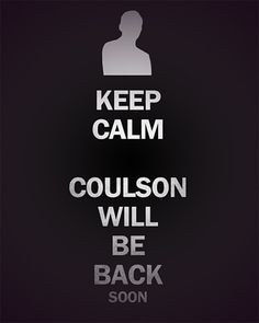 Accepted. #Coulsonlives