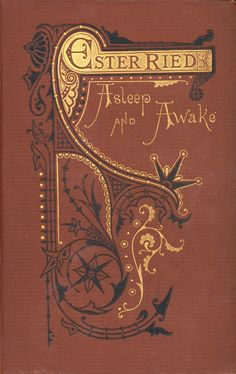 Ester Ried, Asleep and Awake...inscription for 1873