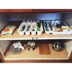 A tidy kitchen cupboard for a Montessori child 😊 Admittedly this has been a bit more messy over the past year. Okay, a lot more messy. I finally got around to tidying it this morning, particularly removing superfluous and unused items, and I'm so...