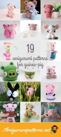 Amigurumi Patterns For Guinea-pig
