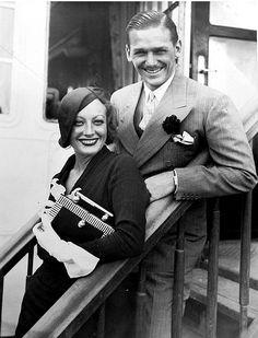 Image result for doug fairbanks jr and joan crawford