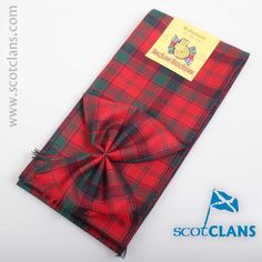 Robertson Modern Tartan Mini Sash. Free worldwide shipping available