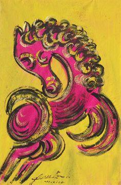 Caballo Rosa by Chucho Reyes