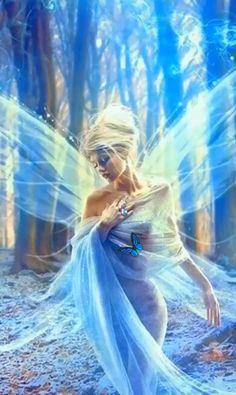 I believe 👼 💎🦋🌳 cartoon videos Angel of the forest Fairy Pictures, Angel Pictures, Angel Images, Lovely Girl Image, Girls Image, Beautiful Gif, Beautiful Fairies, Fantasy Women, Fantasy Art