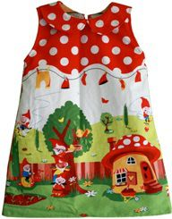 Free pattern: Toddler A-line dress with Peter Pan collar | Sewing | CraftGossip.com