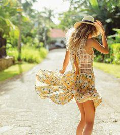 O neill kaya maxi dress yellow