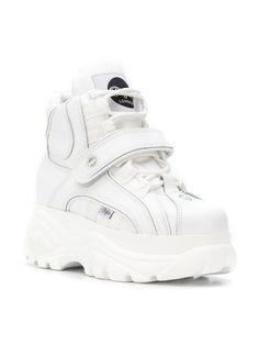 ed349d336d8 Buffalo White 1348 Platform Sneaker Boots