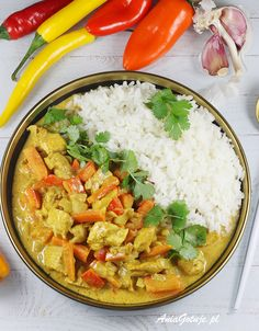 Poultry, Thai Red Curry, Main Dishes, Cooking Recipes, Dinner, Healthy, Ethnic Recipes, Fit Meals, Nails